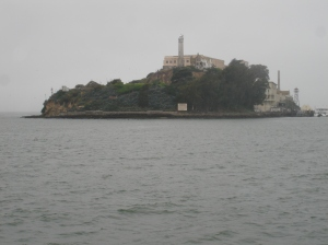 The Rock - Alcatraz prison in the middle of the bay - San Francisco, USA