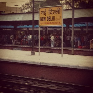 I have always been excited to be at the New Delhi railway station early in the morning