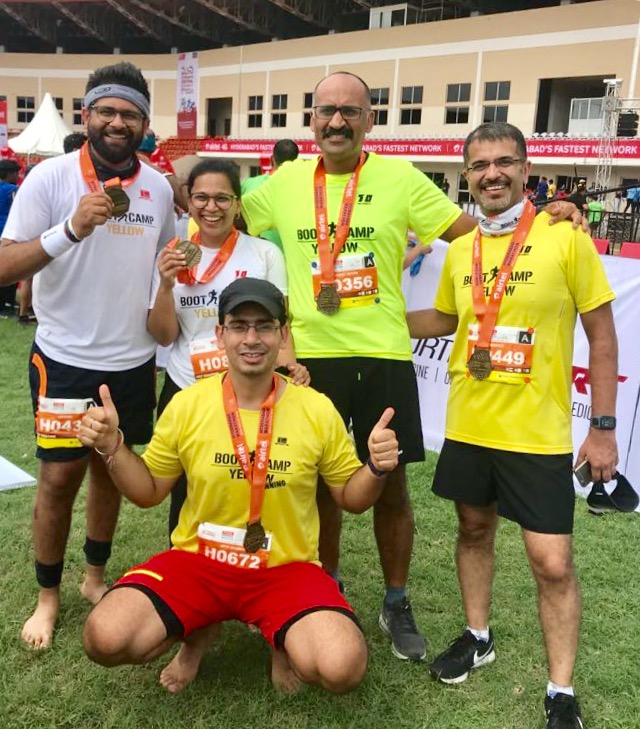 My First Half Marathon _ Hyderabad Aug 2018